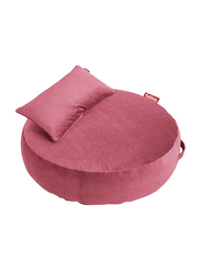 Fatboy Pupillow Velvet Indoor/Outdoor Bean Bags, Deep Blush