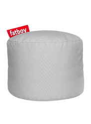 Fatboy Point Stonewashed Indoor Pouf, Silver