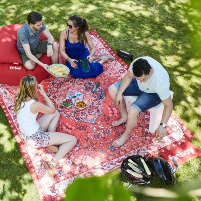 Fatboy Picnic Outdoor Lounge, Red