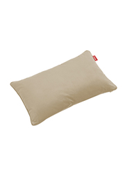 Fatboy Recycled Velvet Indoor King Pillow, Camel Brown