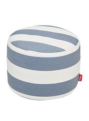 Fatboy Point Pouf, Stripe Ocean Blue