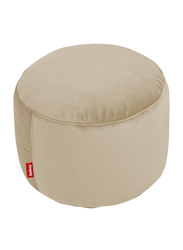 Fatboy Point Recycled Velvet Pouf, Camel Brown