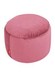Fatboy Point Velvet Indoor Pouf, Deep Blush