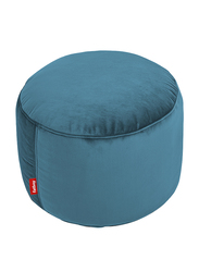 Fatboy Point Recycled Velvet Pouf, Cloud Blue
