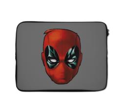 Loud Universe Dead Pool Mask Ryan Reynolds Mask High Quality Neoprene Laptop Case, Multicolor