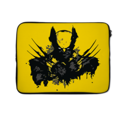 Loud Universe Skint Wolvering Theme xmen XClaw High Quality Neoprene Laptop Case, Multicolor