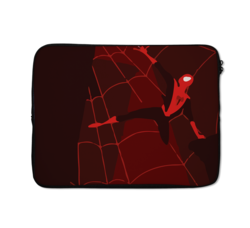 Loud Universe Red Spider Man Retro Spider Man Spider Man Peter Parker High Quality Neoprene Laptop Case, Multicolor