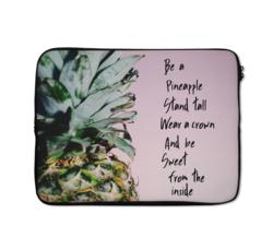 Loud Universe Pineapple Inspirational Laptop Case, Multicolor
