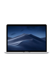 Apple Macbook Pro 13.3 inch Retina Display, Core i5 8th Gen Up to 1.4GHz, 128GB PCIe SSD, 8GB RAM, Intel Iris Plus 645 Graphic Card, macOS, En Keyboard with Touch Bar, 2019, MUHQ2LL/A, Silver