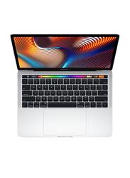 Apple MacBook Pro, 13.3 inch Retina Display, Intel Core i5 8th Gen 2.3GHz, 256GB SSD, 8GB RAM, Int Intel Iris Plus 655 Graphic Card, macOs, EN KB with Touch Bar & Touch ID, 2018, MR9U2, Silver