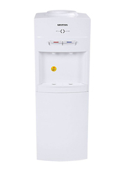 Krypton Top Load Hot and Cold Water Dispenser, with Refrigerator Cabinet, KNWD6076, White