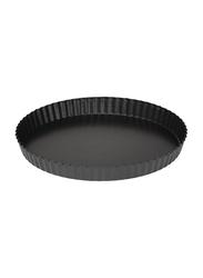 RoyalFord 28cm Aluminium Round Chicha Jerry Bread Pan, RF7034, Black