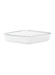 RoyalFord 1.5 Ltr Glass Square Baking Dish, RF2702-GBD, Clear