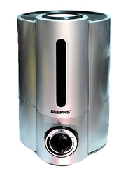 Geepas Ultrasonic Humidifier 4L, Working Up to 16Hrs, GUH2483, Silver