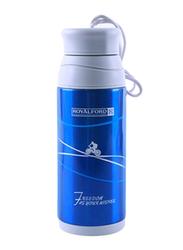 RoyalFord 320ml Stainless Steel Vacuum Bottle, RF6607, Blue