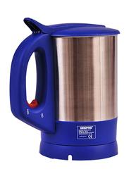 Geepas 1.7L Electric Stainless Steel Kettle, GK165, Blue