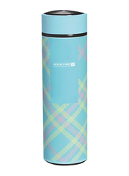 RoyalFord 500ml Double Wall Stainless Steel Vacuum Flask, RF7308, Blue