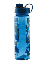 RoyalFord 750ml Plastic Water Bottle (Military), RF6418, Blue