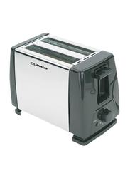 Olsenmark 2 Slice Bread Toaster, 750W, OMBT2398, Black/White