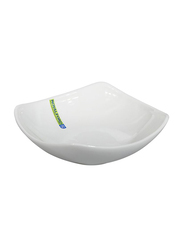 RoyalFord 6.75-inch Porcelain Magnesia Square Serving Bowl, RF9256, White