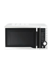 Olsenmark 23L Microwave Oven, 1400W, with Digital Panel, OMMO2261, White