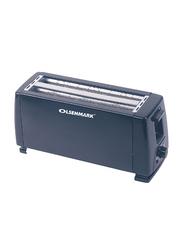 Olsenmark 4 Slice Bread Toaster, 1300W, OMBT2399, Black