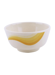 RoyalFord 3.5-inch Melamine Ware Super Rays Small Round Serving Bowl, RF8704, Orange