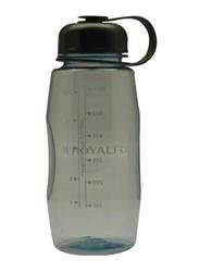 RoyalFord 600ml Plastic Water Bottle, RF7275, Black