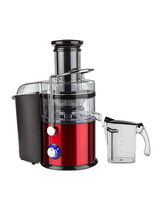 Geepas 2.2L Body Safety Juice Extractor, 800W, GJE5437, Red/Black