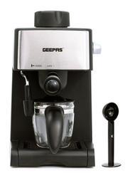 Geepas 240ml Cappuccino Maker, 800W, GCM6109, Black