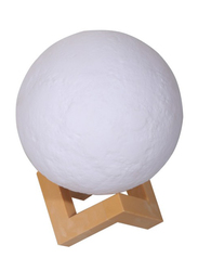 Royalford 15cm LED Moon Light Lamp, RF9617, White