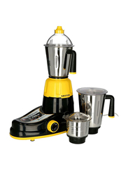 Krypton 3 in 1 Powerful Mixer Grinder, 750W, KNB6206, Yellow/Black