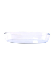 RoyalFord 3 Ltr Glass Oval Baking Dish, RF2700-GBD, Clear