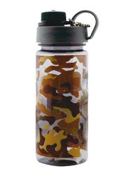RoyalFord 600ml Plastic Water Bottle (Military), RF6419, Brown