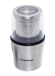 Olsenmark Electric Stainless Steel Coffee Grinder, 200W, OMCG2213, Silver