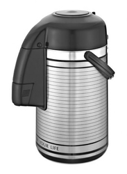 RoyalFord 3 Ltr Stainless Steel Vacuum Flask, RF6277, Silver