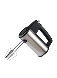 Geepas Hand Mixer, 300W, with 5 Speed Control, Turbo Switch, GHM43022, Black/Silver