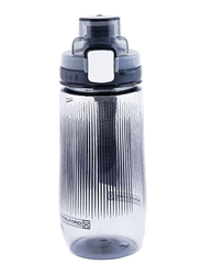 RoyalFord 600ml Plastic Water Bottle, RF6423, Black