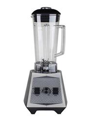 Geepas 2L 2-in-1 Professional Blender, 1500W, with Unbreakable Jar, GSB44053, Black/Grey