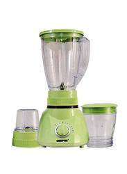 Geepas 1.6L 3-in-1 Blender, 250W, GSB1514, Green