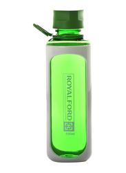 RoyalFord 630ml Plastic Water Bottle, RF6421, Green