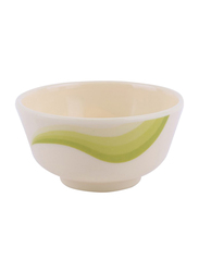 RoyalFord 3.5-inch Melamine Ware Super Rays Small Round Serving Bowl, RF8698, Mint Green