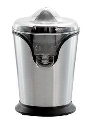 Geepas Citrus Juicer, with Stainless Steel Housing, Anti-Drip Function, GCJ46013UK, Black/Silver