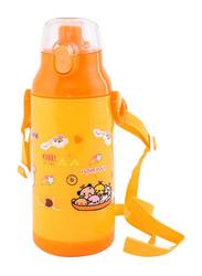 RoyalFord 350ml Plastic Water Bottle, RF6420, Yellow