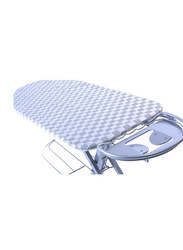 RoyalFord Ironing Board Cover, RF1514-IBC, Grey/Blue