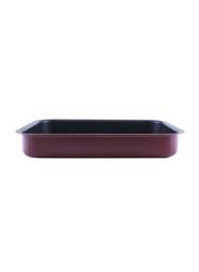 RoyalFord 41cm Aluminium Non-Stick Square Baking Pan, RF1149-SP41, 41x5.5x31.6cm, Red