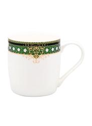 RoyalFord 350ml Fine Bone China Mug, RF7585, White/Green