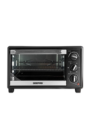 Geepas 21L Electric Oven with Rotisserie, 1380W, GO4464, Black