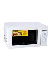 Krypton 20L Microwave Oven, 1100W, KNMO6216, White