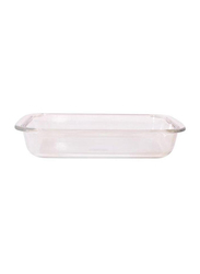 RoyalFord 1 Ltr Glass Rectangle Baking Dish, RF2693-GBD, Clear